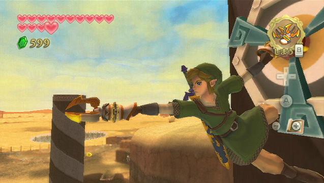 O Double Clawshot esta confirmado para Skyward Sword