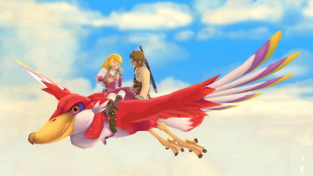 Zelda toca uma suposta Harpa que podera ser o instrumento do jogo