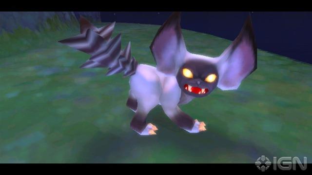 Importante!! O que será essa estranha criatura?? Seria um passaro? Um avião? Ou um... gato? :I Eu acho que isso aí ou é um novo inimigo ou uma daquelas novas raças que estavam ao lado de Zelda na introdução de Skyward Sword