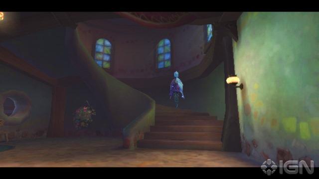 Eu acho que a Fi está guiando Link a um determinado lugar... Essa casa me lembrou uma mansão mal assombrada.