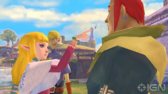 Ou a Zelda deu um fora no Grosse, ou ela esta defendendo Link