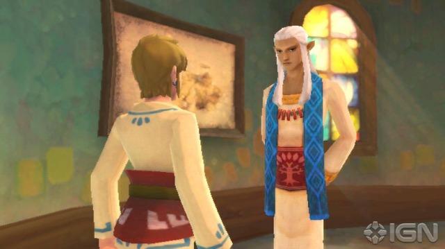 O Ceremony Leader que vimos na E3 2011. Ele parece conhecer Link.